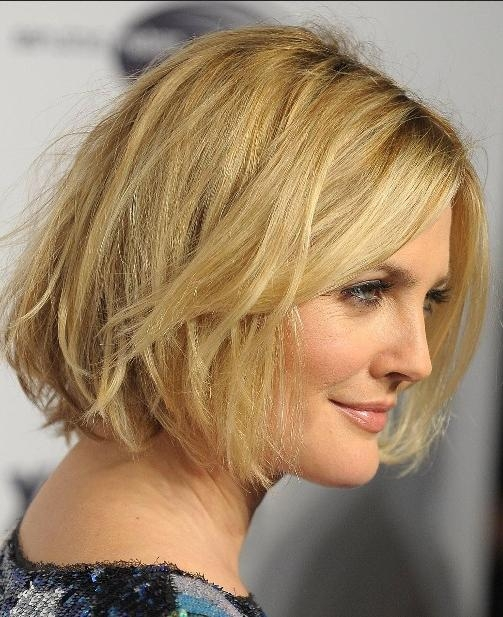 Drew Barrymore Short Hairstyles – Popular Haircuts With Drew Barrymore Short Hairstyles (Gallery 1 of 20)