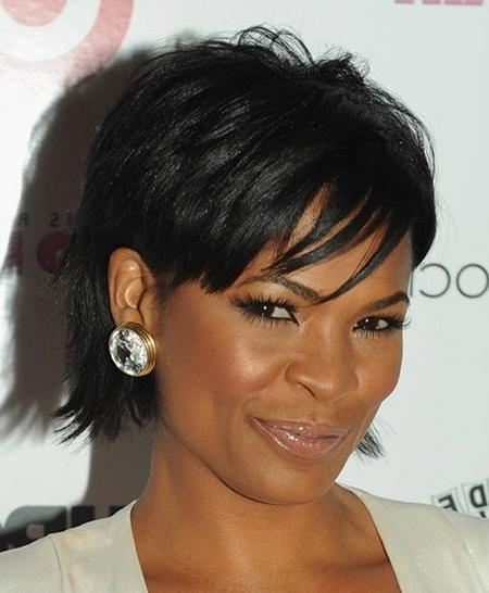 Edgy Short Haircuts For Black Women | Short Hairstyles 2016 – 2017 Within Edgy Short Haircuts For Black Women (View 14 of 20)