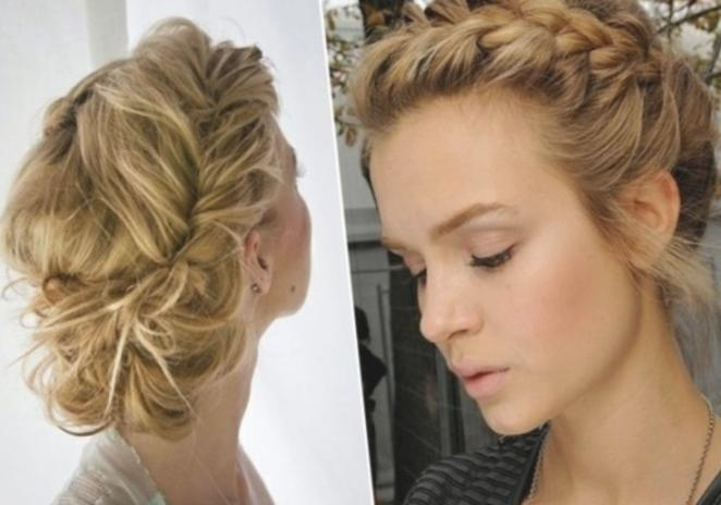 Elegant Prom Hair For Short Hair | Braiding Hairstyles Blog's Regarding Short Haircuts For Prom (View 10 of 20)