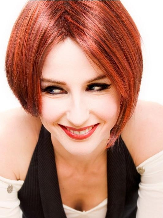 Fashionable Red Haircut | Styles Weekly Intended For Red Hair Short Haircuts (View 12 of 20)