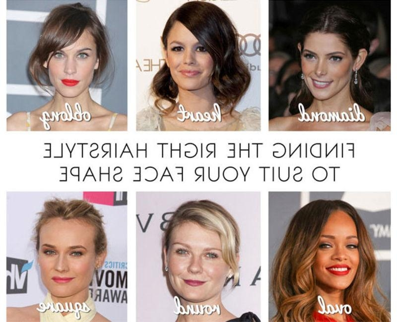 Find The Best Women's Hairstyle For Your Face Shape Within Short Haircuts For Different Face Shapes (View 10 of 20)