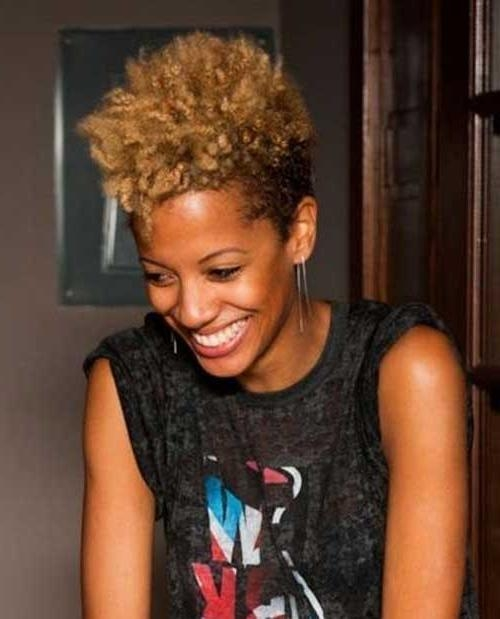 Good Natural Black Short Hairstyles | Short Hairstyles 2016 – 2017 With Regard To Black Women Natural Short Hairstyles (Gallery 1 of 20)