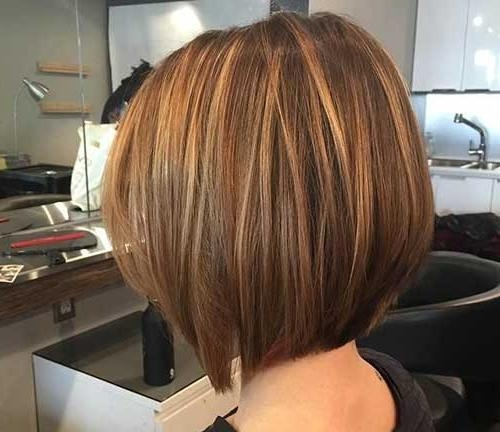 Photo Gallery of Short Hairstyles And Highlights (Viewing 18 of 20 ...