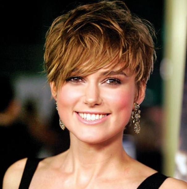 Gorgeous Short Haircuts For Thin Hair Square Face 2017 Throughout Sassy Short Haircuts For Thick Hair (Gallery 13 of 20)
