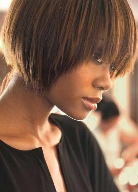 Groovy Short Bob Hairstyles For Black Women | Styles Weekly Regarding Bob Short Hairstyles For Black Women (Gallery 9 of 20)