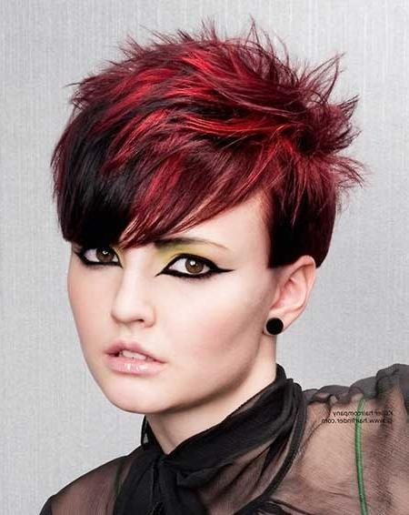 Hair Color For Short Hair 2014 | Short Hairstyles 2016 – 2017 Pertaining To Short Haircuts With Red Color (View 3 of 20)
