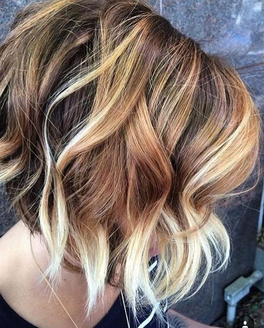 Hair Color Ideas For Short Hairstyles For Fall/winter 2017 – 2018 With Fall Short Hairstyles (View 14 of 20)