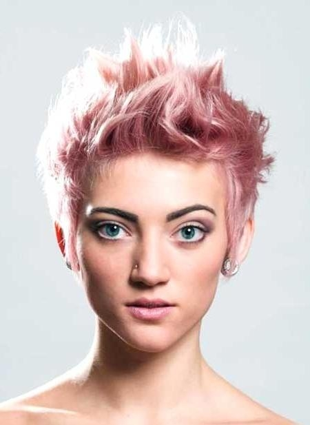 Hair Colors For Short Hair 2014 – 2015 | Short Hairstyles 2016 Inside Pink Short Hairstyles (View 7 of 20)