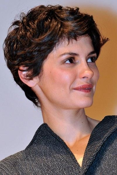 Hair I'm Crushing On: Audrey Tautou's Incredibly Adorable Pixie Regarding Audrey Tautou Short Haircuts (View 15 of 20)