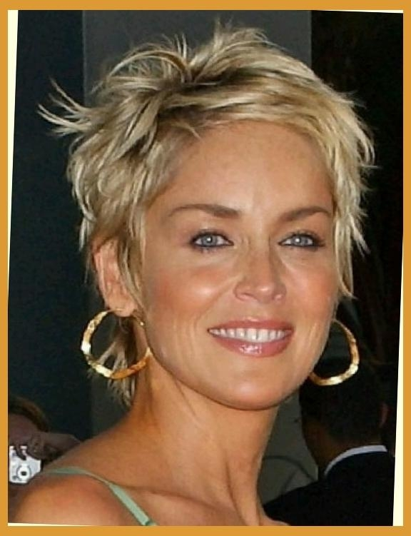 Hair On Pinterest | Sharon Stone Hair, Sharon Stone And Short Pertaining To Sharon Stone Short Haircuts (View 15 of 20)