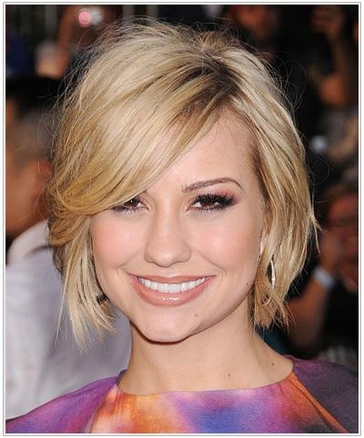 Hair Styles: Hair Styles For Heart Shaped Faces Regarding Short Hairstyles For Heart Shaped Faces (View 14 of 20)