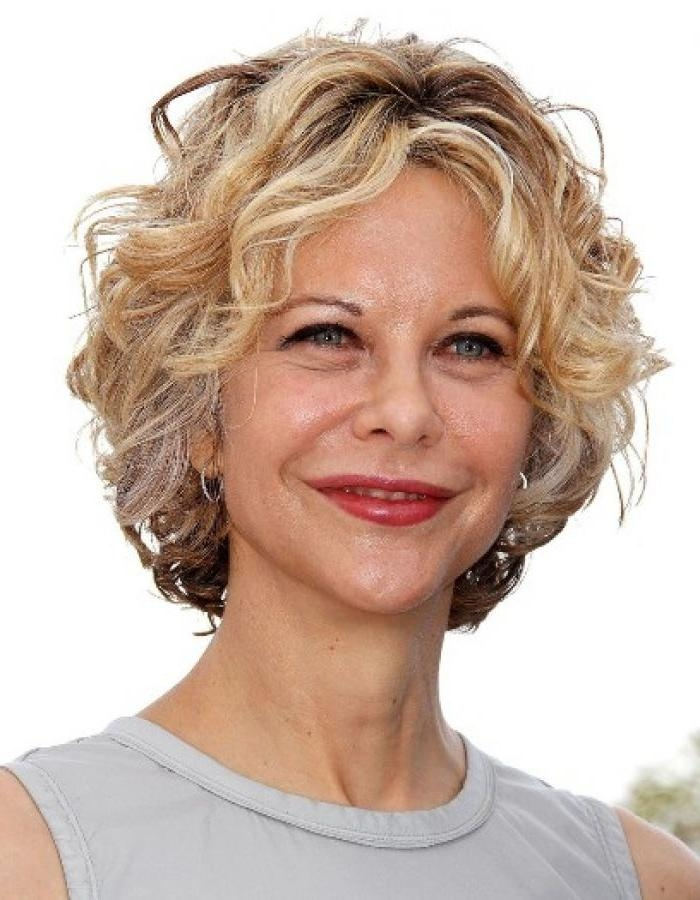 Haircuts For Naturally Curly Short Hair Older Women] Hairstyles Pertaining To Short Haircuts For Naturally Curly Hair And Round Face (View 16 of 20)