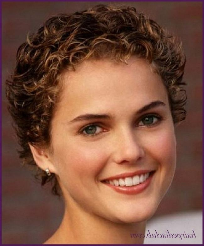 Haircuts For Wavy Hair For Round Face] 48 Perfect Hairstyles For Within Short Haircuts For Naturally Curly Hair And Round Face (View 17 of 20)