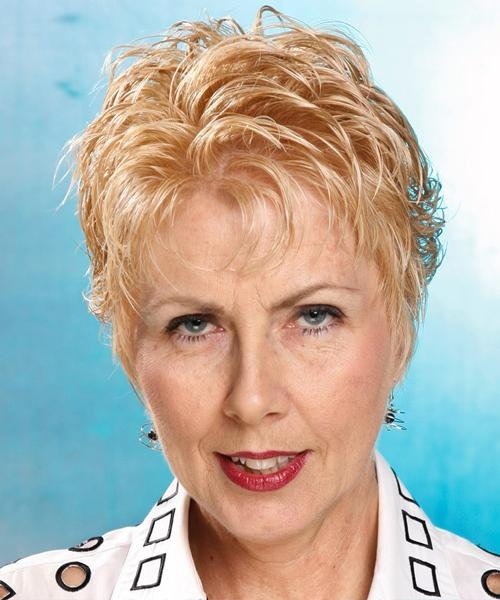 Hairstyle 2013: Short Hairstyles For Women Part 3 Within Short Haircuts For Older Women With Curly Hair (View 8 of 20)