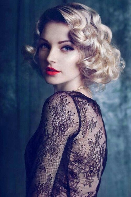 Hairstyle 20's | Hair | Pinterest | Gatsby, 1920S And Hair Style For 20S Short Hairstyles (View 11 of 20)