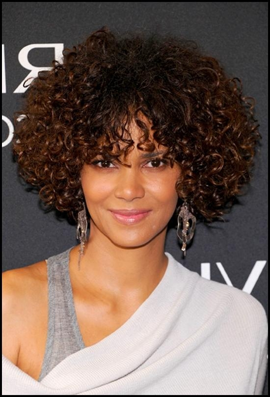 20 Best Ideas Of Short Haircuts For Black Curly Hair