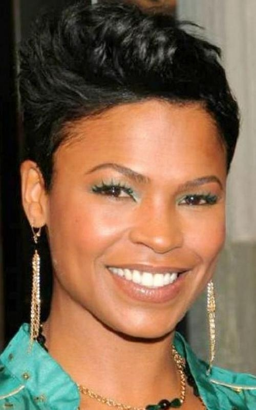 Hairstyles For Black Women With Thin Hair | Popular Hairstyles Regarding Short Hairstyles For African American Women With Thin Hair (View 3 of 20)