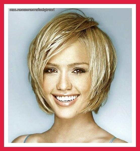 Hairstyles For Oval Faces And Wavy Hair – Best Hairstyles Throughout Short Hairstyles For Oval Faces And Thick Hair (View 9 of 20)