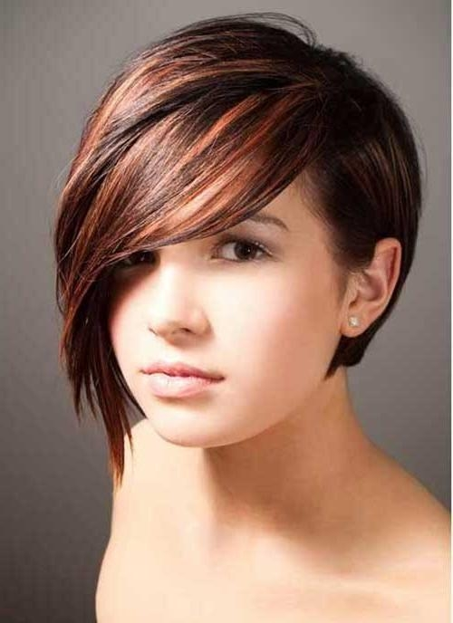 Hairstyles For Round Faces Teenager: Most Popular Short Hairstyles For Short Haircuts For Big Round Face (View 17 of 20)