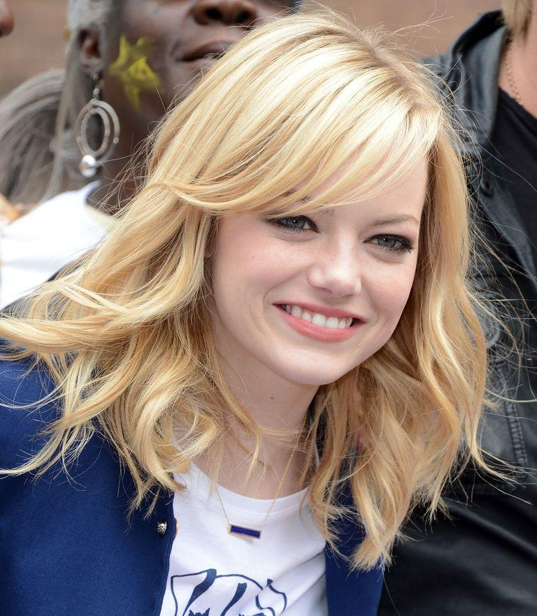 Hairstyles For Round Faces: The Most Flattering Cuts Throughout Short Hairstyles Swept Off The Face (View 15 of 20)