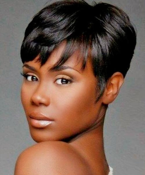 Hairstyles For Short Hair, Male And Female For Short Hairstyles For African American Women With Thin Hair (View 15 of 20)