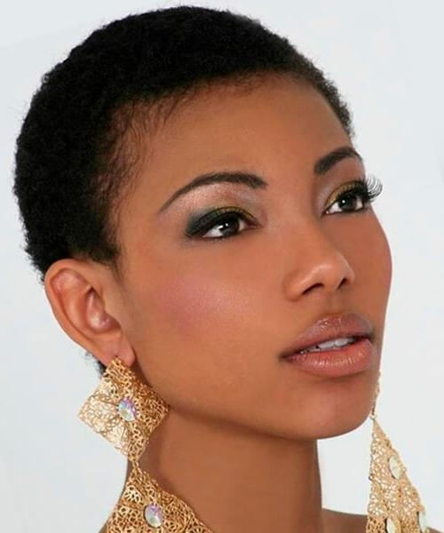 Hairstyles For Short Hair, Male And Female With Regard To African American Ladies Short Haircuts (View 15 of 20)