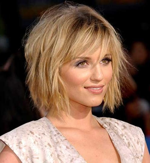 Hairstyles For Thin Curly Hair 2017: Hairstyles For Fine Wavy Tips With Short Haircuts For Thin Curly Hair (View 14 of 20)