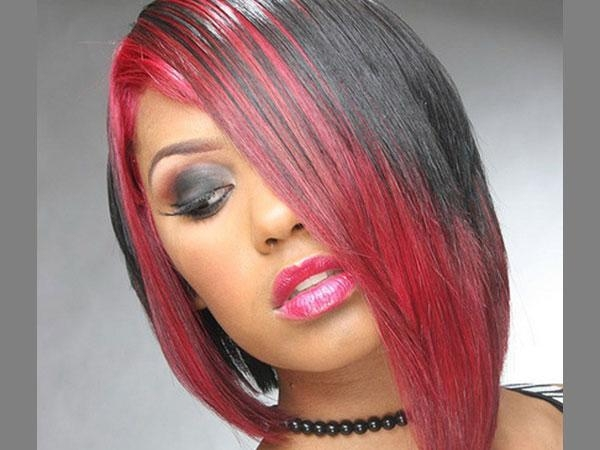 Hairstyles Red And Black – Hairstyle Foк Women & Man For Red And Black Short Hairstyles (View 4 of 20)