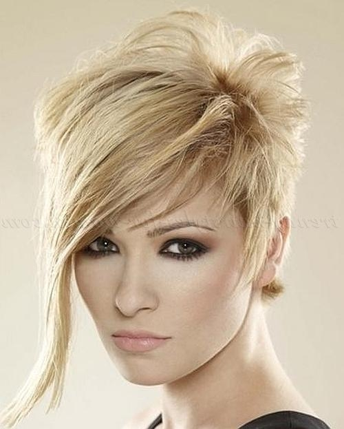 Hairstyles With Long Bangs To Inspire You How To Remodel Your Hair Inside Short Haircuts With Longer Bangs (View 11 of 20)
