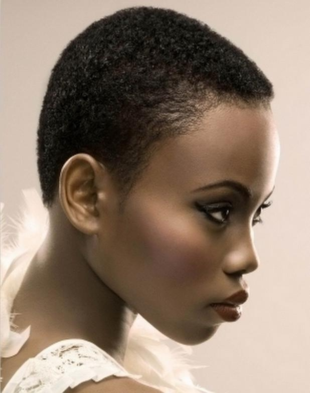 Hot Short Hairstyles For Oval Faces Regarding Short Haircuts For Black Women With Oval Faces (View 9 of 20)