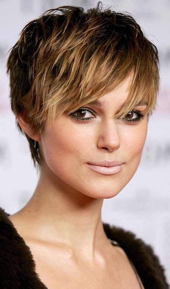 How To Sport Pixie Hairstyle For Different Face Shapes? In Short Hairstyles For High Cheekbones (View 16 of 20)