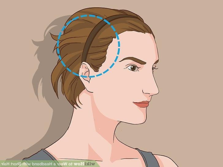 How To Wear A Headband With Short Hair: 11 Steps (With Pictures) In Short Hairstyles With Headband (View 14 of 20)