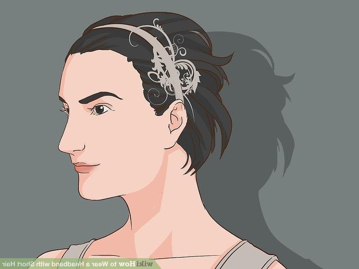 How To Wear A Headband With Short Hair: 11 Steps (With Pictures) Pertaining To Short Hairstyles With Headbands (View 16 of 20)