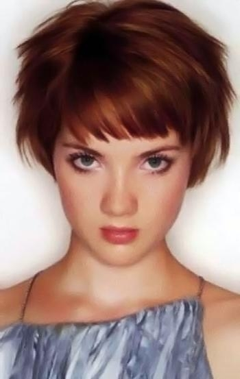 Image 146. Short Red Hairstyles Pictures. Red Haircuts Section (View 10 of 20)