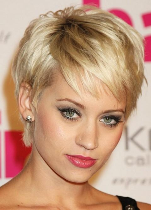 Images Of Short Hairstyles For Thin Hair – Trendy Hairstyles In Throughout Trendy Short Hairstyles For Thin Hair (View 13 of 20)
