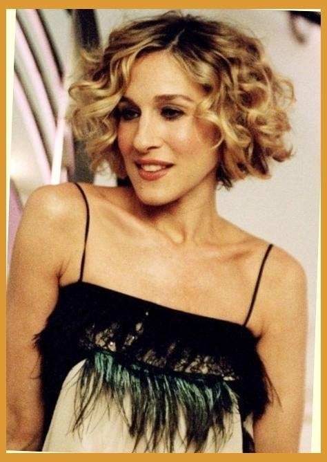 Incredible Carrie Bradshaw Short Hair Pertaining To Present In Carrie Bradshaw Short Hairstyles (View 13 of 20)