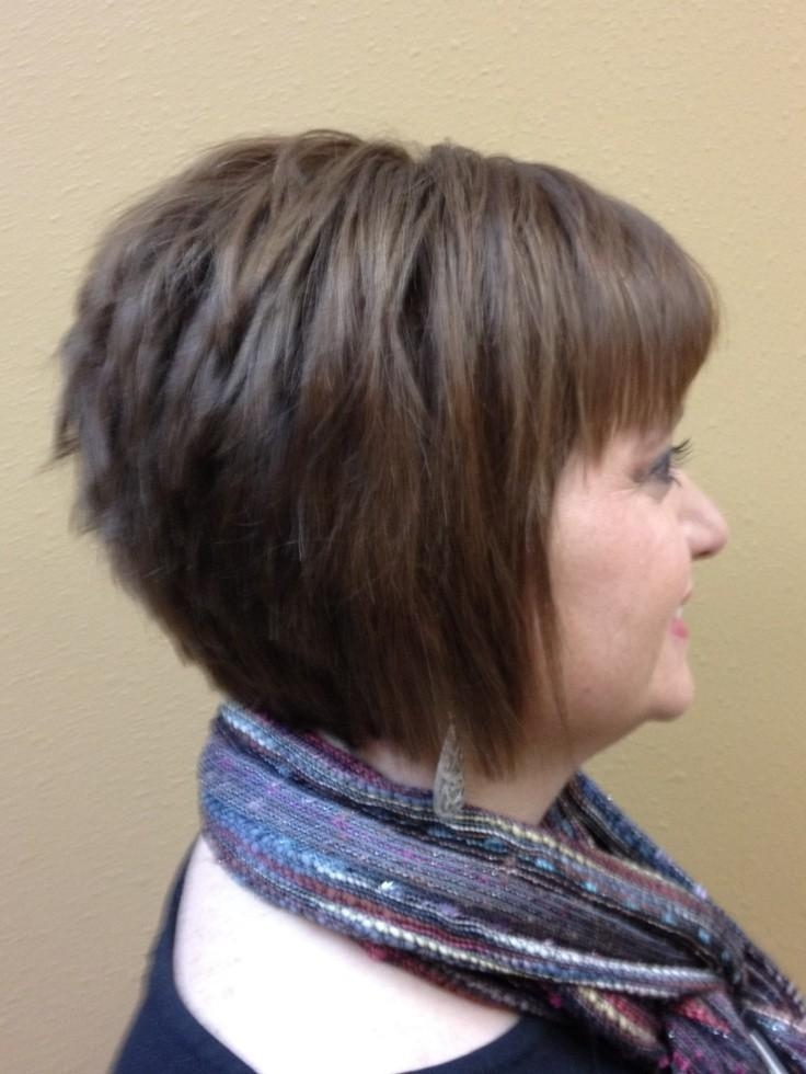 Inverted Bob With Bang: Short Haircuts – Popular Haircuts Within Short Haircuts Bobs Crops (View 17 of 20)