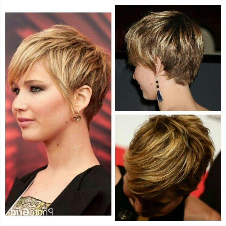 Jennifer Lawrence Short Hair | Short Haircut Style | Pinterest Regarding Jennifer Lawrence Short Hairstyles (Gallery 1 of 20)