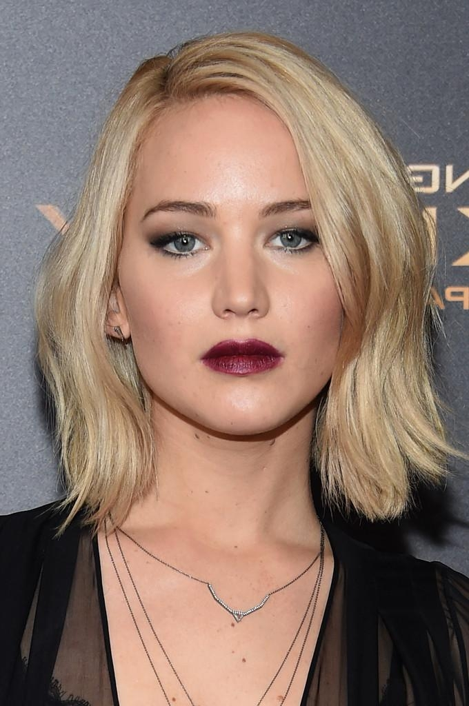Jennifer Lawrence Short Hairstyles – Jennifer Lawrence Hair With Jennifer Lawrence Short Hairstyles (Gallery 20 of 20)