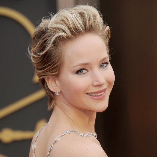 Jennifer Lawrence's Grown Out Pixie | Jennifer Lawrence's Best Within Jennifer Lawrence Short Hairstyles (View 13 of 20)