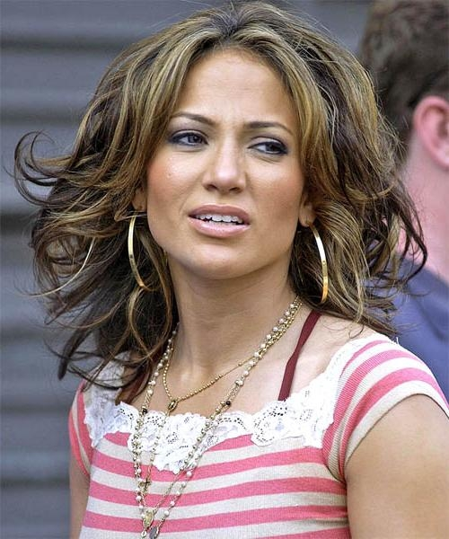 Jennifer Lopez Long Wavy Formal Hairstyle With Regard To Jennifer Lopez Short Haircuts (Gallery 4 of 20)