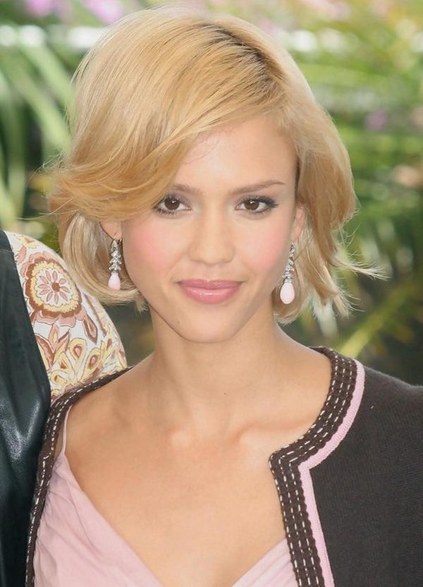 Jessica Alba Hairstyles – Celebrity Latest Hairstyles 2016 Within Jessica Alba Short Hairstyles (Gallery 17 of 20)