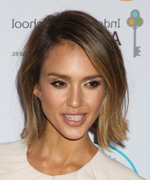 Jessica Alba Hairstyles For 2018 | Celebrity Hairstyles With Regard To Jessica Alba Short Hairstyles (Gallery 2 of 20)
