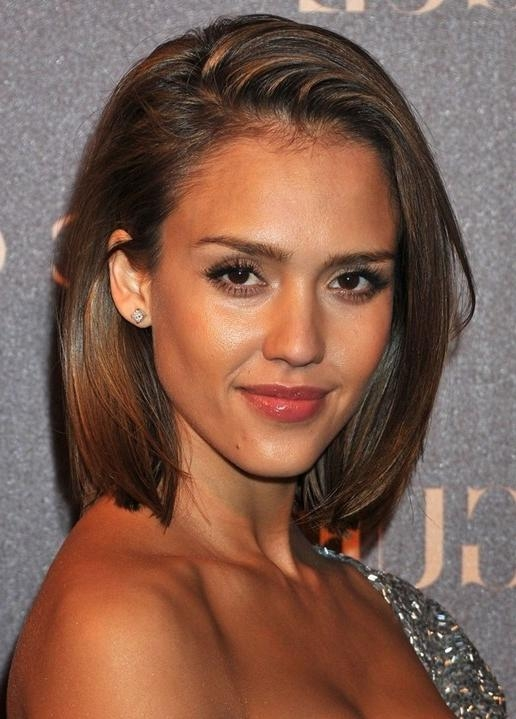 Jessica Alba Hairstyles: Short Bob Haircut – Popular Haircuts In Jessica Alba Short Hairstyles (Gallery 8 of 20)