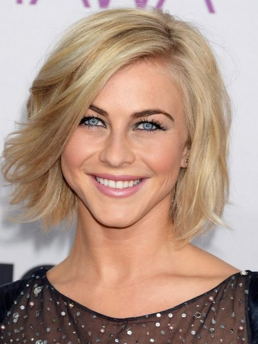 Julianne Hough Hairstyles – Celebrity Latest Hairstyles 2016 With Regard To Julianne Hough Short Haircuts (View 12 of 20)