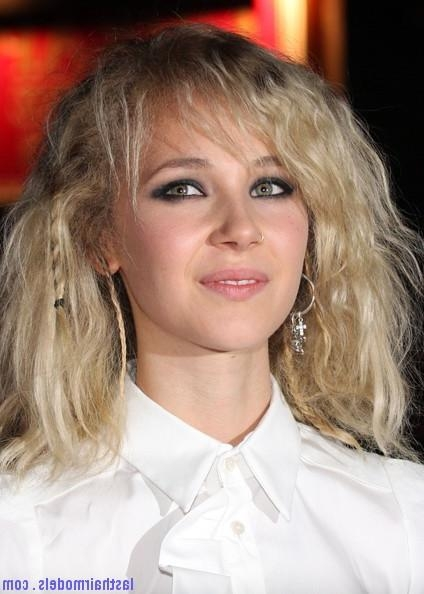 Juno Temple's Messy Stranded Hair Look! : Hippie Hairstyle In Regarding Hippie Short Hairstyles (Gallery 18 of 20)