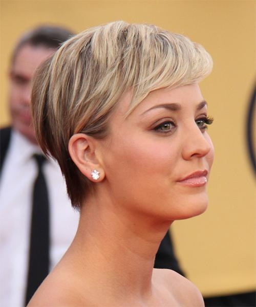 Kaley Cuoco Hairstyles For 2018 | Celebrity Hairstyles For Kaley Cuoco Short Hairstyles (Gallery 1 of 20)