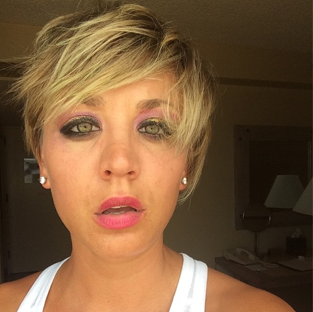 Kaley Cuoco Hairstyles – Hair World Magazine Regarding Kaley Cuoco Short Hairstyles (View 4 of 20)