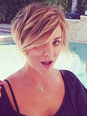 Kaley Cuoco Hairstyles – Hair World Magazine With Regard To Kaley Cuoco New Short Haircuts (Gallery 10 of 20)
