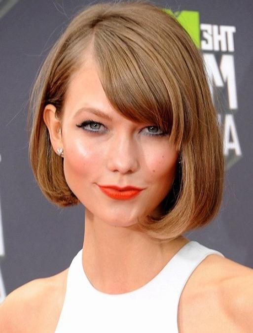 Karlie Kloss Short Haircut For 2014 – Pretty Designs With Regard To Karlie Kloss Short Haircuts (Gallery 7 of 20)